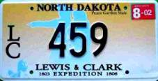 ND Lewis & Clark Expedition 1803 - 1806